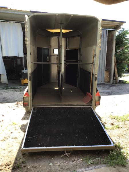 Immagine n. 5 - 6#4112 Trailer per trasporto cavalli tipo pesante