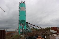 Impianto di calcestruzzo Imer Group e gru Potain - Subasta 4118