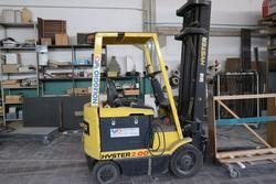 Hyster 2 0 forklift and Ford Transit truck - Lot 1 (Auction 4127)