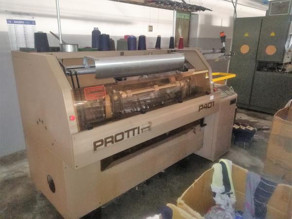 Immagine n. 11 - 1#4131 Macchine maglieria Protti e rettilinee Scomar