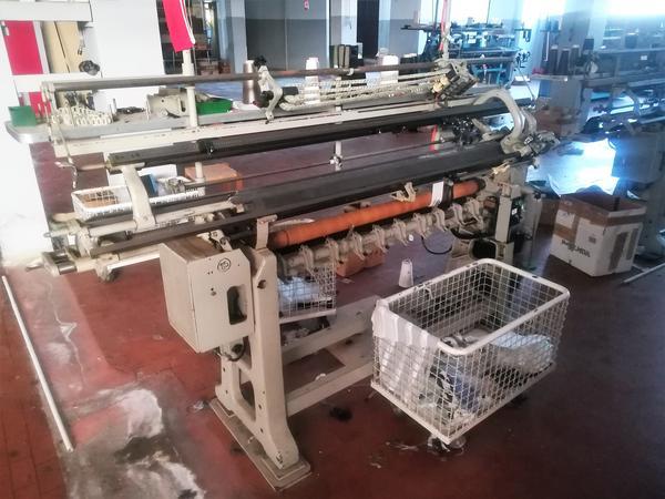 Immagine n. 13 - 1#4131 Macchine maglieria Protti e rettilinee Scomar