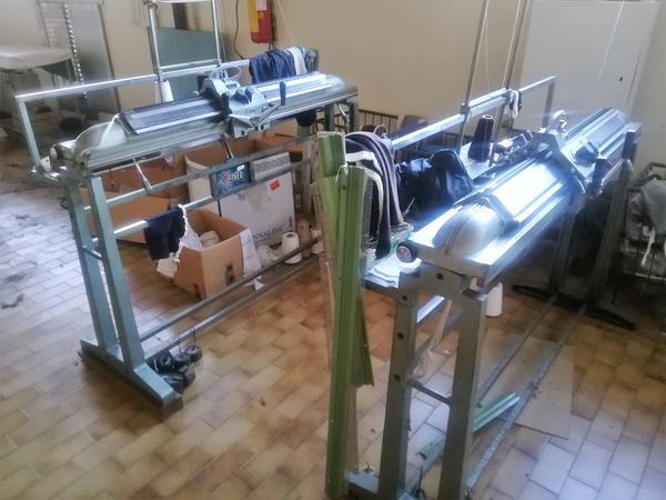 Immagine n. 17 - 1#4131 Macchine maglieria Protti e rettilinee Scomar