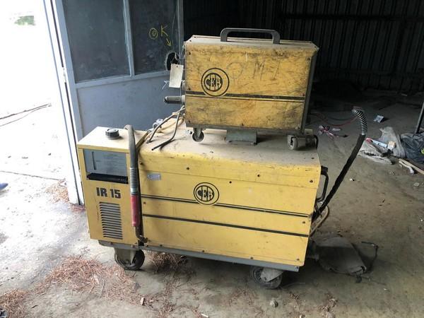 6#4136 Compressore saldatrici trapano a colonna e arredo