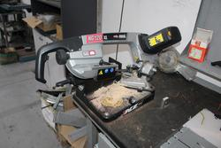 Femi band saw and grinding wheel - Lot 24 (Auction 4176)