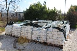 Ferrous scrap and bags of salt for purifiers - Lot 33 (Auction 4176)
