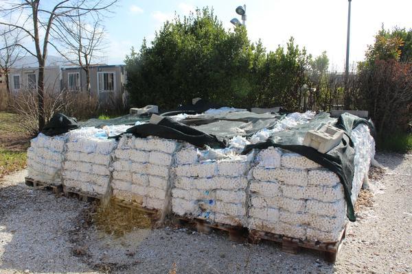 33#4176 Rottami ferrosi e sacchi di sale per depuratori