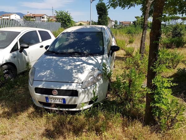 40#4176 Autocarro Fiat Punto Van