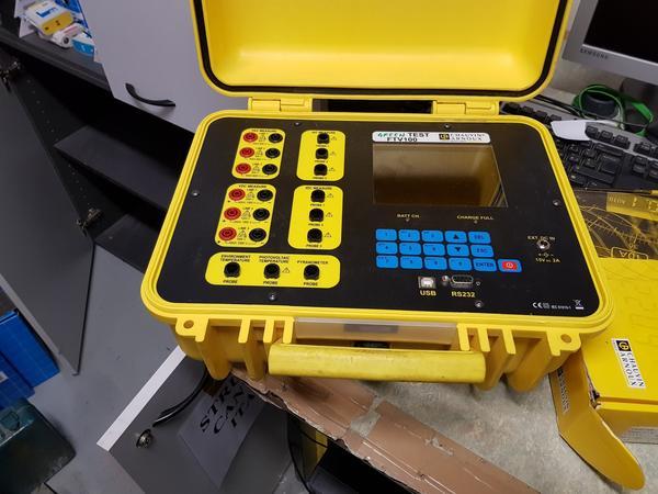 42#4176 Certificatore fotovoltaico Green Test e solarimetro Thermosolar