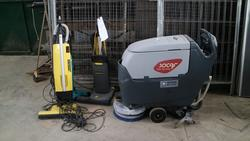Socaf floor cleaner and carpet cleaner - Lot 9 (Auction 4179)