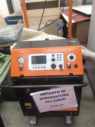 Impianto di spruzzatura fili zn su tubi saldati - Lotto 16 (Asta 4199)