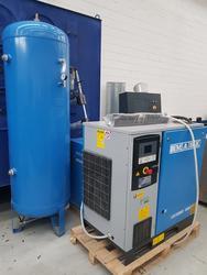 Compressore a vite Mark RMA 15 IVR con essiccatore - Lotto 2 (Asta 4199)