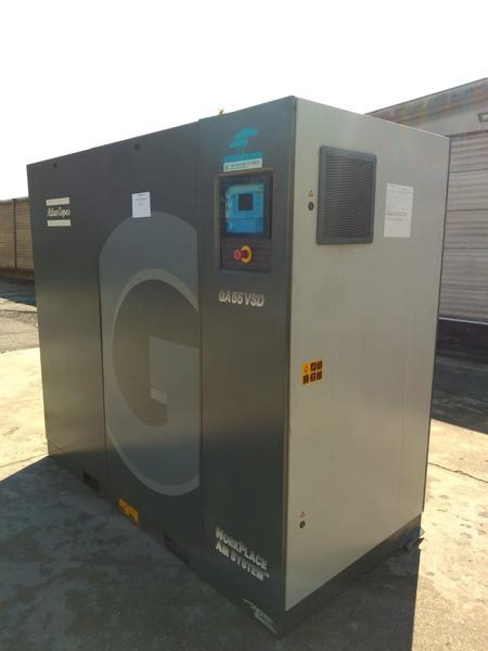 Immagine n. 1 - 1#4222 Compressore aria Atlas Copco GA55
