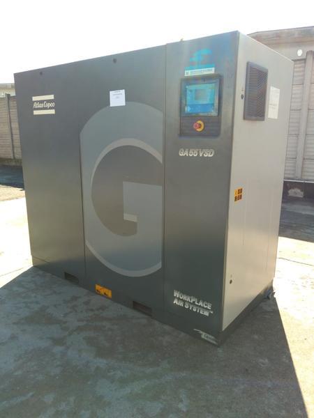 Immagine n. 3 - 1#4222 Compressore aria Atlas Copco GA55