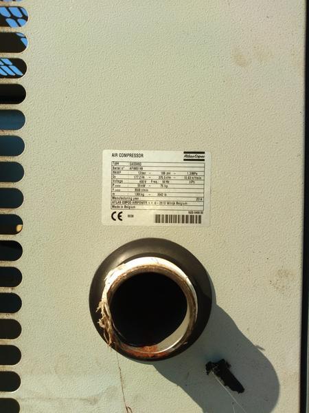 Immagine n. 9 - 1#4222 Compressore aria Atlas Copco GA55