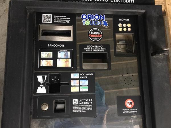 Immagine n. 4 - 2#4222 Distributore automatico di sigarette Orion Touch 60/60