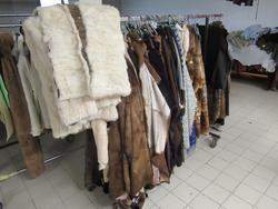 Pelli di montone shearling e macchine per il cucito - Subasta 4223