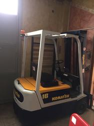 Komatsu FB16 electric forklift  - Lot 11 (Auction 4245)