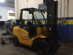 Jungheinrich DFG 50 forklift - Lot 4 (Auction 4245)