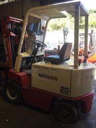 Nissan electric forklift - Lot 6 (Auction 4245)