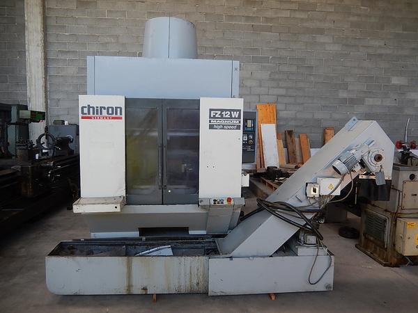1#4246 Centro di lavoro verticale Chiron FZ12 W Magnum