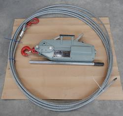 Argano manuale Wire rope winch - Lotto 16 (Asta 4246)