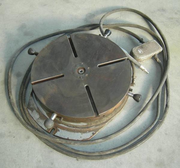 8#4246 Tavola girevole pneumatica Waircom FCP8