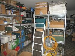 Radio spare parts warehouse and electrical equipment - Lot 8 (Auction 4248)