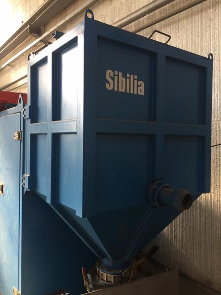 1#4258 Aspiratore industriale Sibilia Vacblast 45