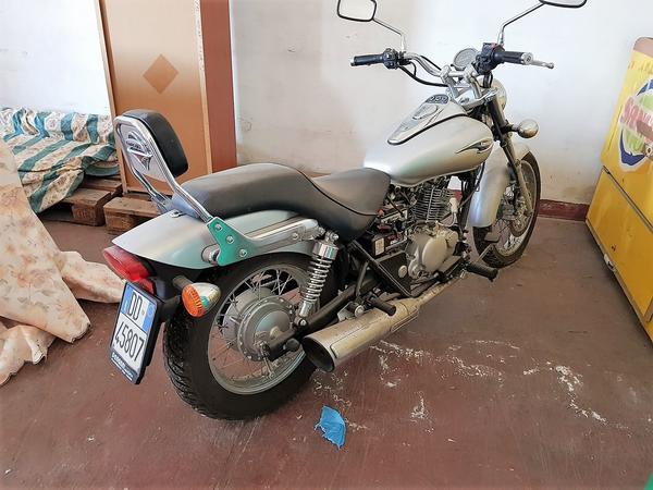 2#4266 Motocicletta kawasaki