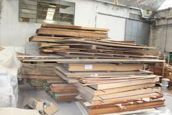 Wooden boards and Kia car - Auction 4288