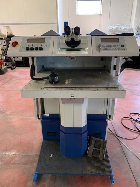 4#4297 Saldatrice laser Alphalaser Alw vario 150