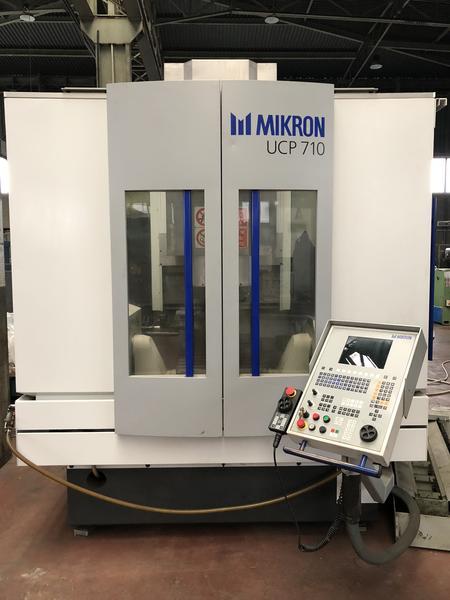Immagine n. 2 - 1#4299 Centro di lavoro verticale a 5 assi Mikron UCP 710