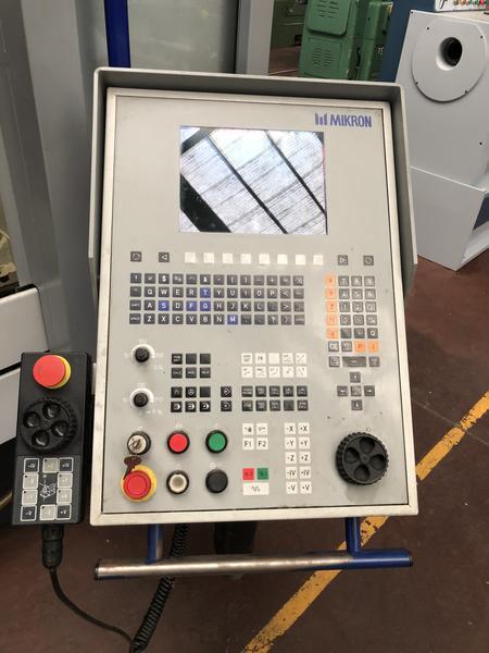 Immagine n. 3 - 1#4299 Centro di lavoro verticale a 5 assi Mikron UCP 710