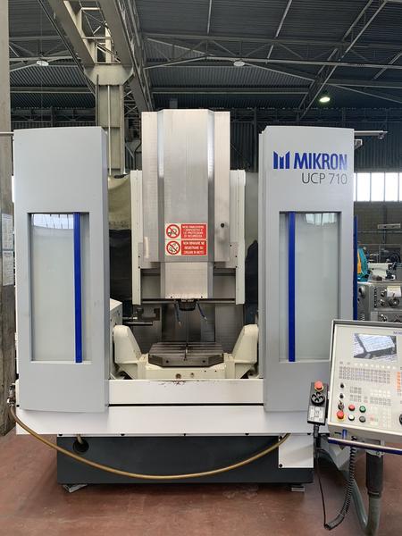 Immagine n. 4 - 1#4299 Centro di lavoro verticale a 5 assi Mikron UCP 710