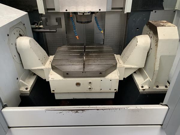 Immagine n. 6 - 1#4299 Centro di lavoro verticale a 5 assi Mikron UCP 710