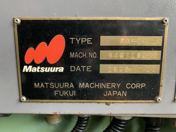 Immagine n. 5 - 3#4299 Centro di lavoro verticale Matsuura RA-1F