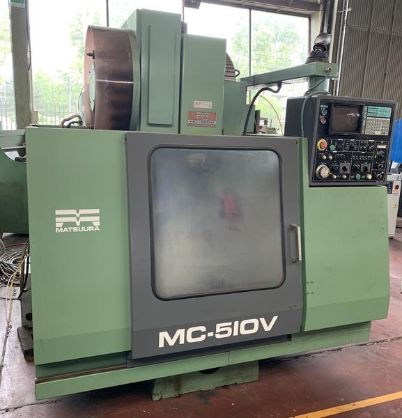 Immagine n. 1 - 4#4299 Centro di lavoro verticale Matsuura MC 510V