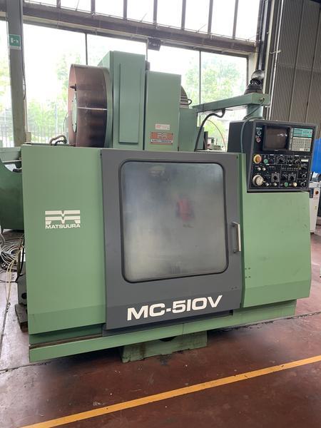 Immagine n. 2 - 4#4299 Centro di lavoro verticale Matsuura MC 510V