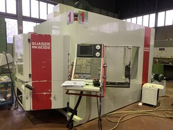 Quaser MK 60 II S vertical machining center with pallet changer - Lot 6 (Auction 4299)