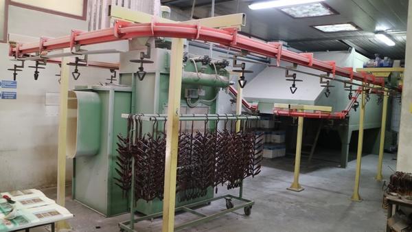 8#4303 Impianto di verniciatura a polveri