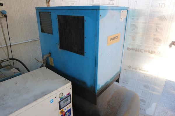 4#4305 Essiccatore Friulair e compressori Abac