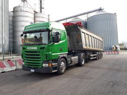 Scania G480 truck with semi trailer - Lot 1 (Auction 4310)