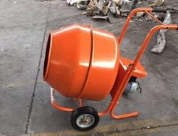Lot of No  5 new professional electric concrete mixers - Lote 29 (Subasta 4315)