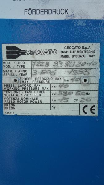 Immagine n. 7 - 3#4319 Compressore Ceccato 15 kw