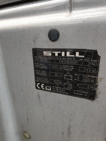 Immagine n. 4 - 2#4329 CARRELLO ELEVATORE OM-STILL MOD.RX 60-50