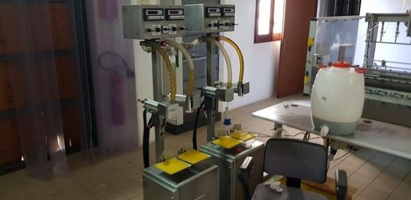 Immagine n. 8 - 1#4335 Impianto imbottigliamento olio