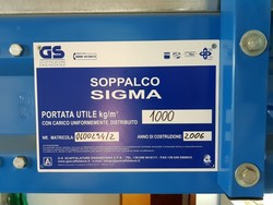 Soppalco Sigma - Lotto 72 (Asta 4335)