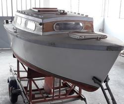 Norberto Folletto Cabin Cruiser Sailing Vessel and Ellebi Trailer - Lot  (Auction 4336)