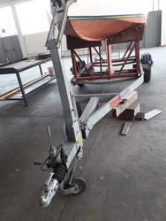 Trailer Transporting Boats - Lote 2 (Subasta 4336)