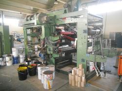 Manzoni flexographic printing machine - Lote 5 (Subasta 43560)